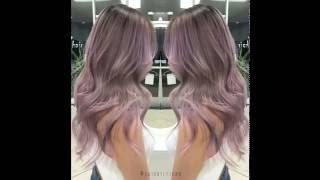 Самый модный тон волос сезона  он роскошен! От стилиста Гай Тэнг(, 2016-10-24T10:09:55.000Z)