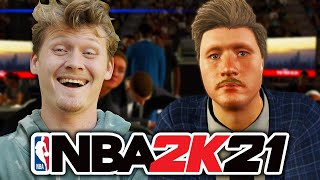 Getting Drafted and NBA Debut! NBA 2K21 Next Gen