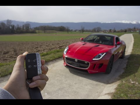 The f-type v6 s sound like a machine gun