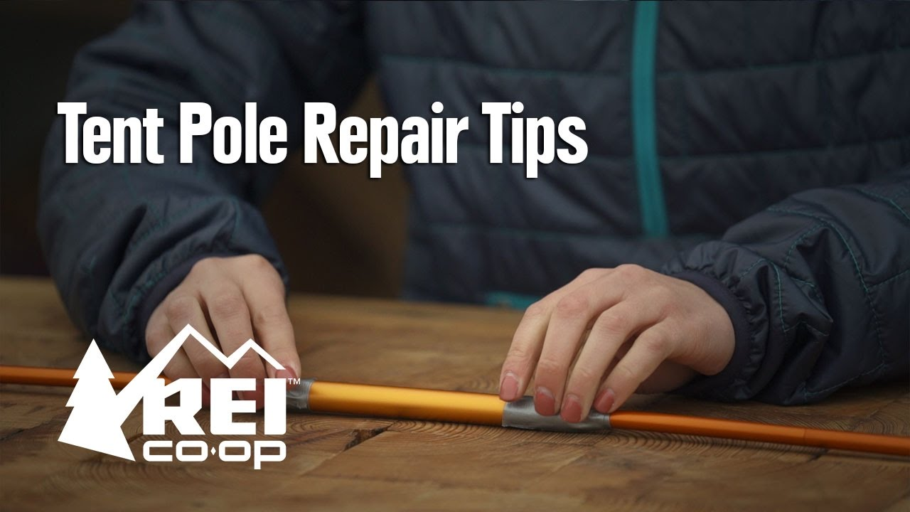 & Tent Pole Repair Tips - YouTube