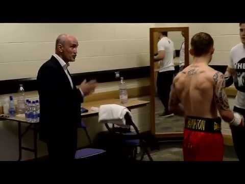 Carl Frampton  behind the scenes of his Belfast fight