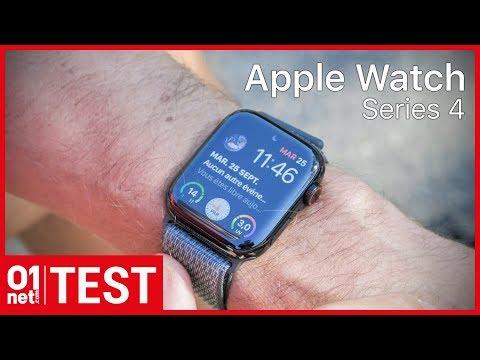 Test de l'Apple Watch Series 4