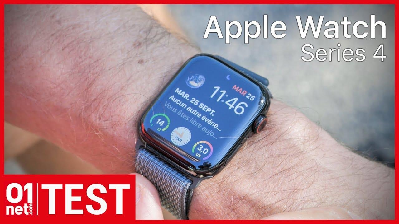Test De LApple Watch Series 4