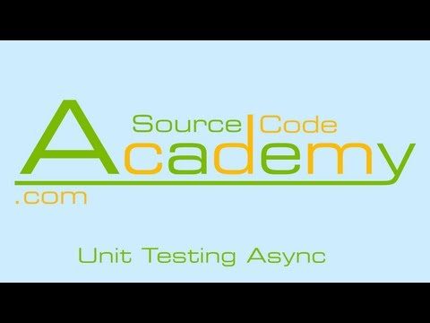 Unit Test asynchronous functions (#6)