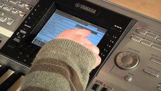 connecting an older model keyboard tyros or clavinova to the internet using a wireless usb lan