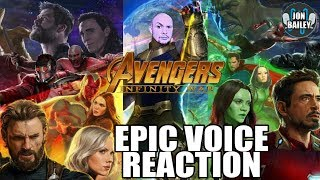 AVENGERS: INFINITY WAR - Trailer Reaction