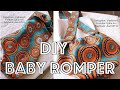 HOW TO MAKE A BABY ROMPER|TUTORIAL|IPHIE ANI