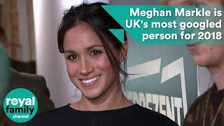 The Duchess of Sussex, Meghan Markle has topped the list as the UK'...