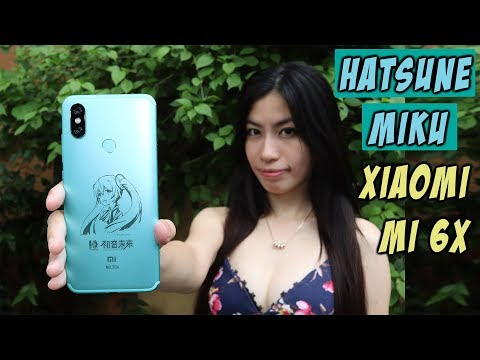 Xiaomi Mi 6X(Mi A2) Hatsune Miku Limited Edition Unboxing And Hands On