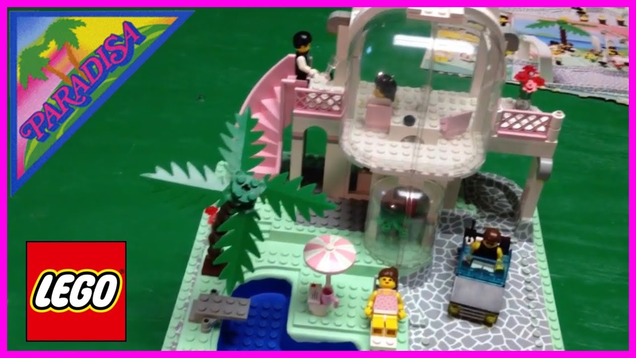 LEGO Paradisa 6416 Poolside Paradise Town Set from 1992 ...