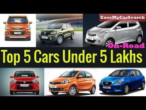 Top 5 Best Small Cars In India Under 5 Lakh Onroad Best Car In 5