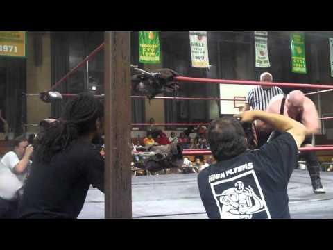 ECW Original WWE/TNA Superstar Devon Dudley vs Lil Tony Moose in Brooklyn NY for ECPW