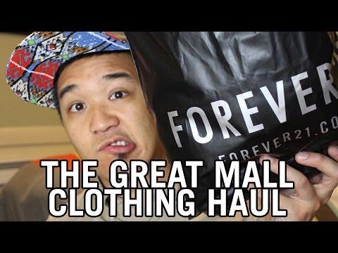 The Great Mall Men's Clothing Haul - Forever 21, Ecko Unltd, & J.Crew