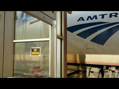 Amtrak 48 and westbound 63 meeting at Rome ny 1/6/19
