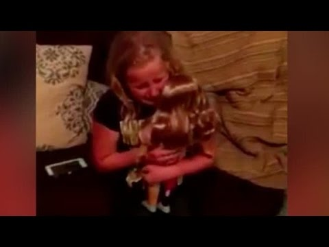 Child's reaction to this doll will move you to tears