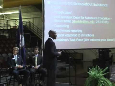 Dr. Howard on Substance Education