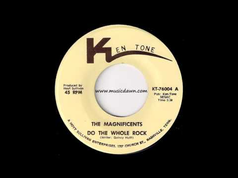 The Magnificents - Do The Whole Rock [Ken Tone] Modern Soul Funk 45