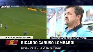 Ricardo Caruso Lombardi en Showsport Noticias