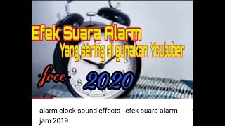 alarm clock sound effects   efek suara alarm jam 2019