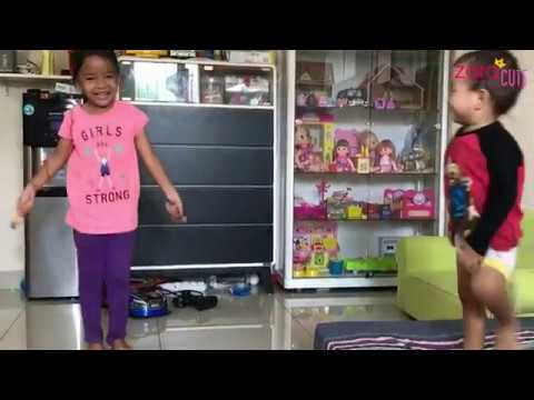 Serunya Main Lompat Tali sama Keluarga | Zara membuat Mainan Sendiri | DIY Traditional Toys