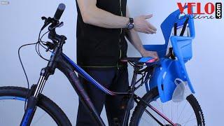 видео Купить Детские велокресла в Киеве
