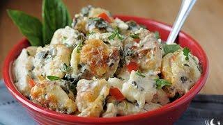 Creamy Chicken Florentine Tortellini Cooking Instructions