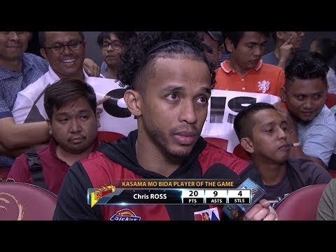 Best Player: Chris Ross | PBA Commissioner's Cup 2017