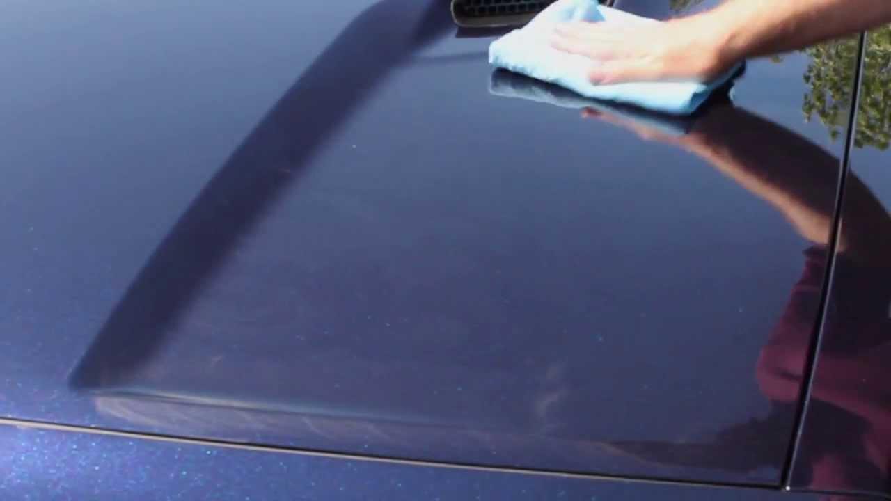 How To Use Turtle Wax Ice Liquid Wax Youtube