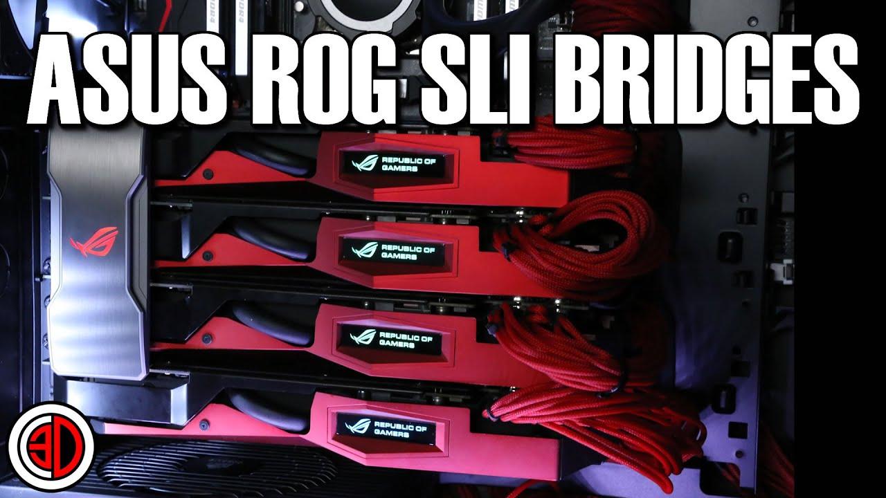 Asus ROG NVLink™ Bridge with Aura Sync RGB