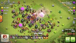 Base clash of clan troll tiền nhiều cướp phê không tưởng