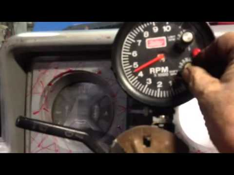 mallory tachometer with rev limiter and shift light youtube rh youtube com Mallory Ignition Wiring Diagram Chevy MSD HEI Wiring-Diagram