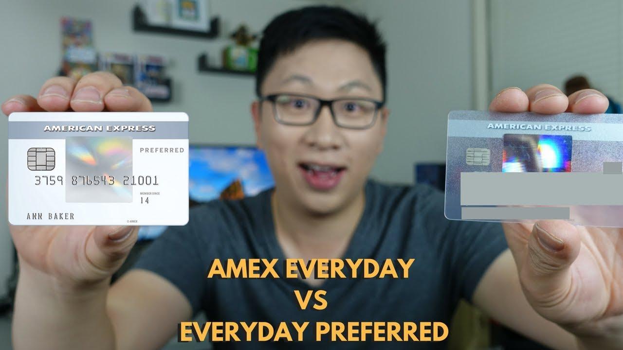 Amex Everyday Vs Everyday Preferred Expected Value