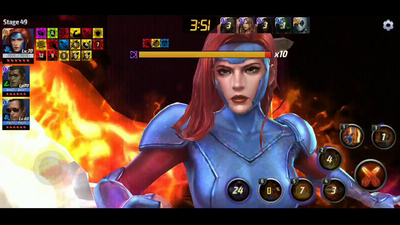 T3 Jean Grey Vs WBU CULL OBSIDIAN STAGE 49 CTP OF RAGE - YouTube