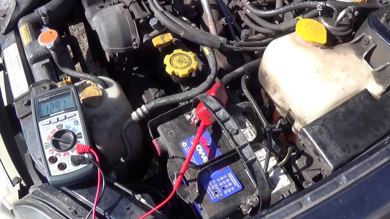 hight resolution of subaru battery dead short issue