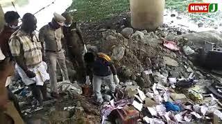 சந்தியாவின் உடல்பாகம் இருந்த இடம் - அதிர்ச்சி காட்சிகள்