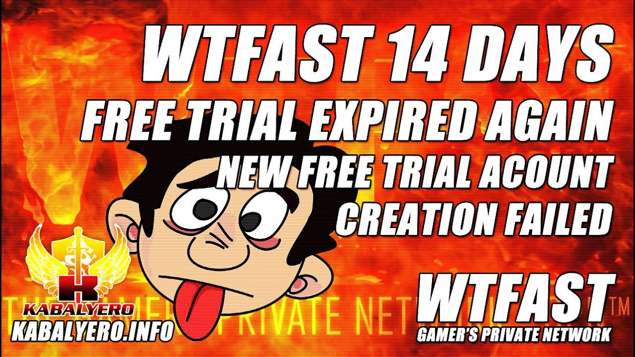 WTFast Free Trial Expired Again ★ New Free Trial Account Creation Failed ★  Try Again Later (Vlog)