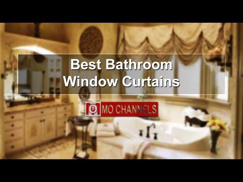 Best Bathroom Window Curtains