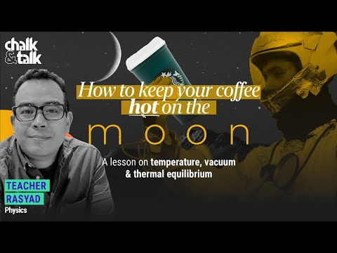 How To Keep Your Coffee Hot On The Moon