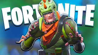 DINO DUOS - FORTNITE BR Dinosaur Skin Funny Moments