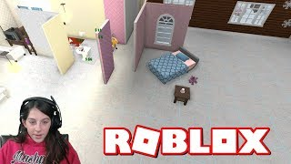 ROBLOX WILLKOMMEN ZU BLOXBURG RE-DOING MY HOUSE! 😧 + NEW HOUSE BUILD (REBUILD) + CHRISTMAS DECORATING