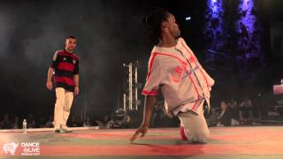 MAJID (GR) vs. FABRICE (FR) Hiphop Final DANCE@LIVE World Cup 2014