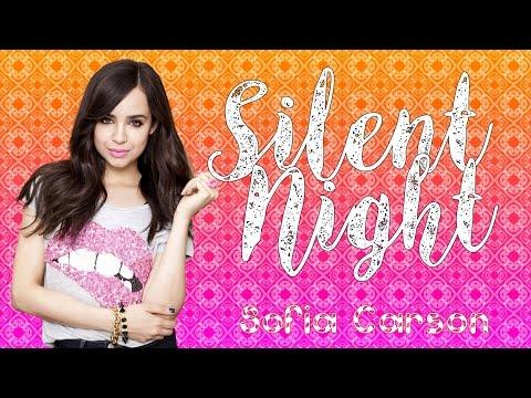 Sofia Carson - Silent Night (Lyrics)