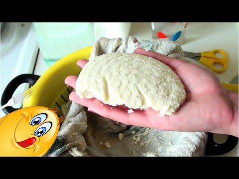 Адыгейский сыр в домашних условиях с кефиром