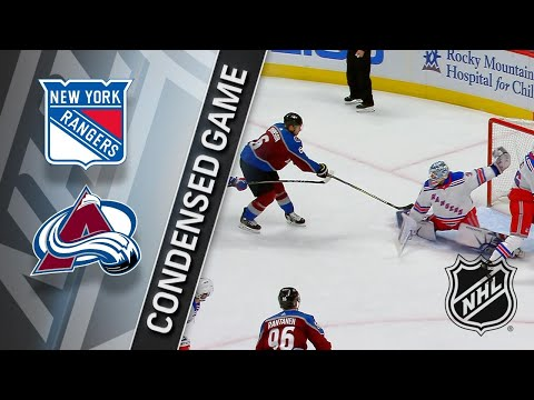 01/20/18 Condensed Game: Rangers @ Avalanche