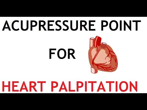 3 Acupressure Point for Heart Palpitation - YouTube