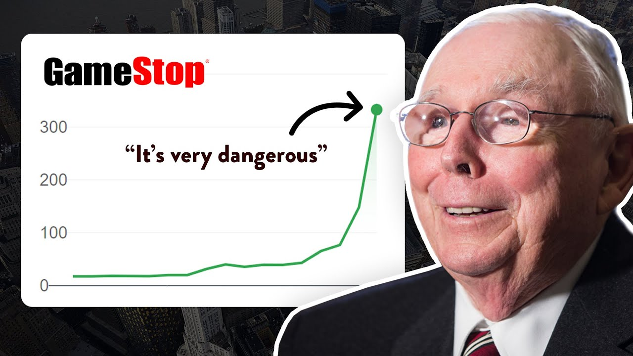 Charlie Munger Weighs in on Gamestop Controversy
