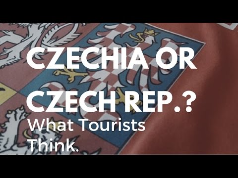 Czechia or Czech Republic? What tourists think [INTERVIEWS]