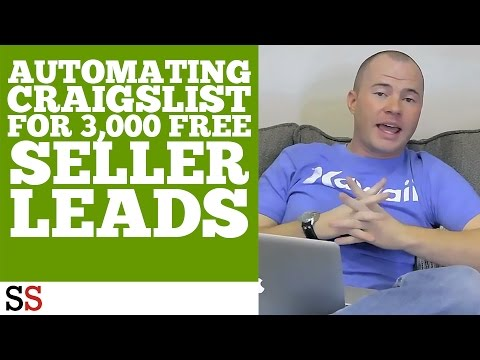 Automating Craigslist for 3,000 FREE Seller Leads
