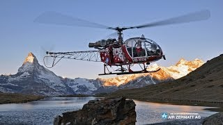 Mountain Rescue - Air Zermatt Alouette 315B Lama