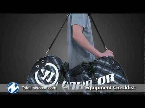 Lacrosse Equipment Checklist